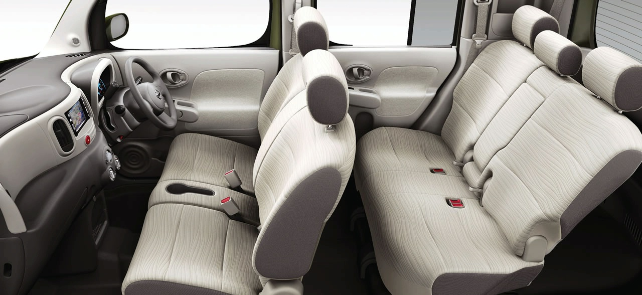 Car sight luxury nissan cube for Cube interiors