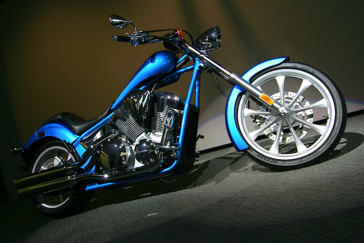 THE BIKERS  2010 Honda Fury Motorcycles Picture Design