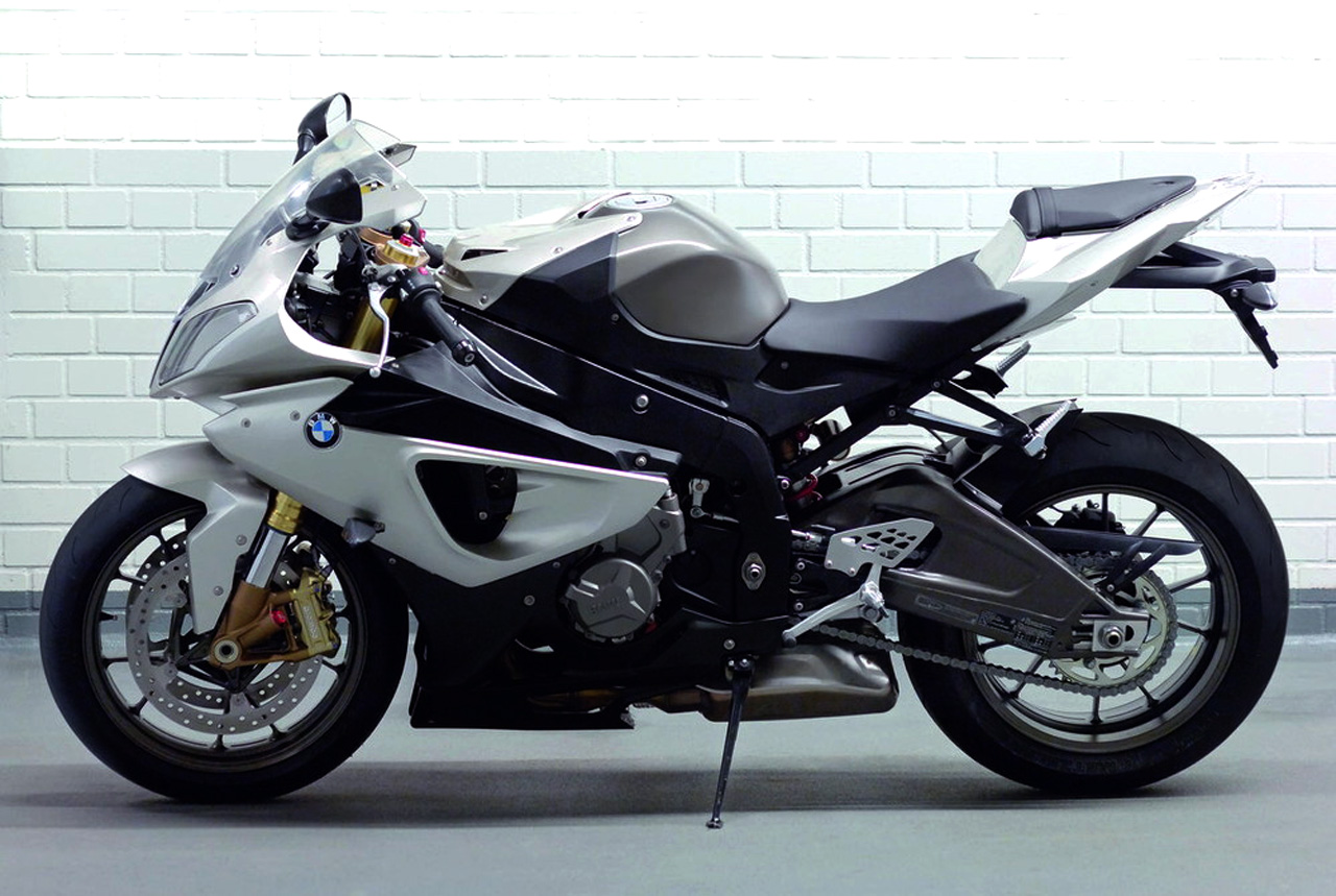 BMW S 1000 RR Silver Edition
