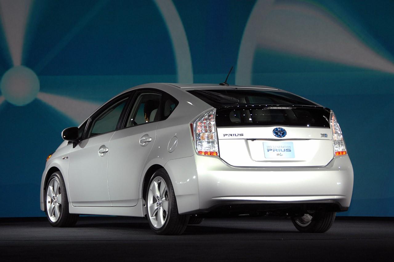 2010 Toyota Prius Rear View
